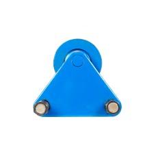 Тележка к тали электрической TOR CD1 3.2 t треугольная, холостая