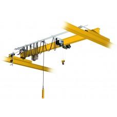 Кран мостовой однобалочный опорный однопролётный г/п 2 т пролет 16,5 м