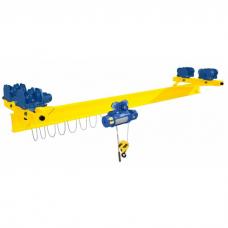 Кран мостовой однобалочный подвесной однопролётный г/п 1 т пролет 9,0 м