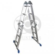 Лестница 4-секционная алюминиевая TOR TRL4-6