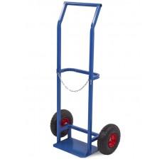 Тележка для баллонов ПР-1 пропановых, 1 баллон 2 колеса d 250мм, лит. резина