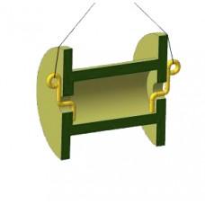 Строп 8-2СЦ - 2,0 1 500 с захватами для барабанов