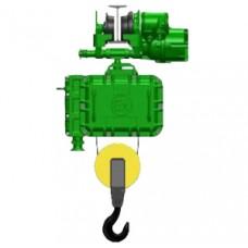 Таль электрическая взрывозащищенная г/п 5,0 т Н - 36 м, тип ВТ